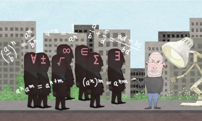 스티브 잡스는 위기의 순간 수학자들의 도움을 받아 어려움을 극복했다. - EBSMATH 화면 캡쳐 제공